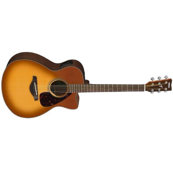 Гитара электроакустическая Yamaha FSX800C SunBurst гитара электроакустическая epiphone ej 200ce vintage sunburst gld