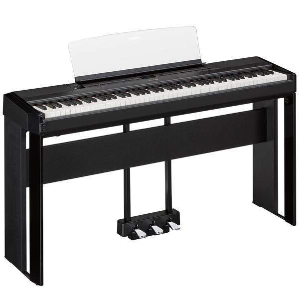 лучшая цена Цифровое пианино Yamaha P-515 SET Black