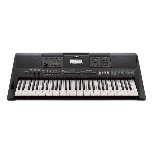 Синтезатор Yamaha PSR-E463 Black зарядное устройство yamaha psr 270 psr 273 psr 275