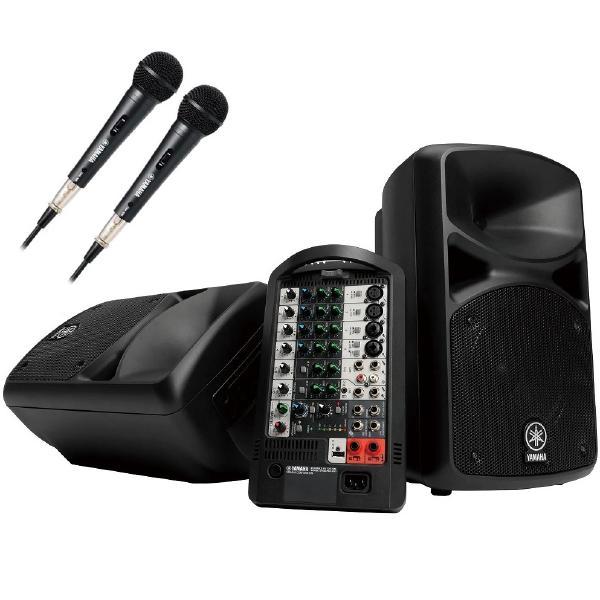 Комплект профессиональной акустики Yamaha STAGEPAS 600BT2M