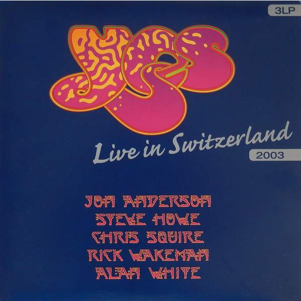 YES YES - Live In Switzerland (3 LP) yes yes yes album