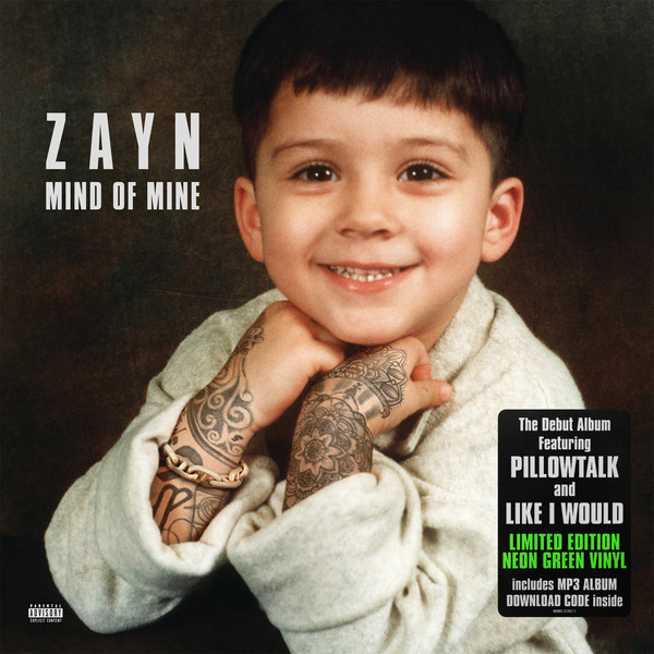 ZAYN ZAYN - Mind Of Mine (2 LP) no child of mine