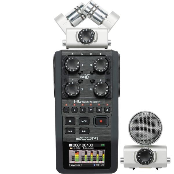 Портативный рекордер Zoom H6 микрофоны audix tm1