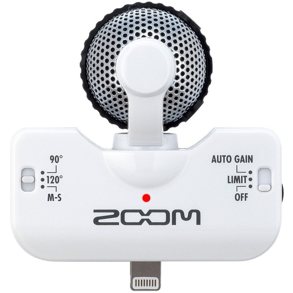 Микрофон для iOS Zoom iQ5 White zoom xyh 5 съемный микрофон для h5 h6
