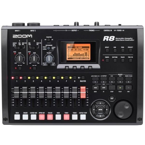 Портастудия Zoom R8 аудиоинтерфейс zoom tac 8