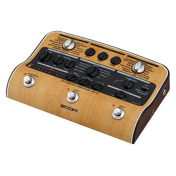 Гитарный процессор Zoom AC-3 удлинитель zoom ecm 3