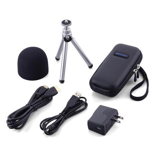 Портативный рекордер Zoom Комплект аксессуаров APQ-2HD кабель питания zoom dhc 1 для zoom f4