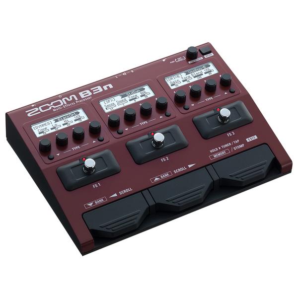 Гитарный процессор Zoom B3n воронцов н бродилки