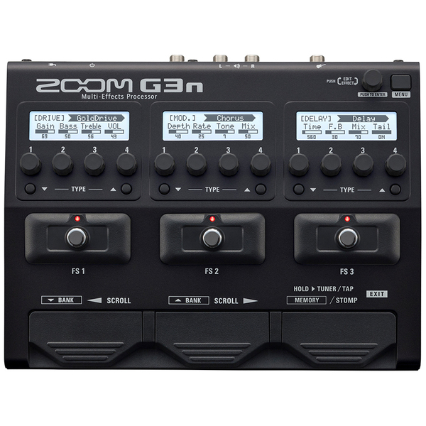 все цены на Гитарный процессор Zoom G3n + AD-16 онлайн