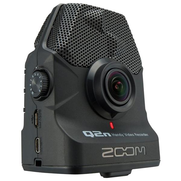 Портативный рекордер Zoom Q2n Black запись с веб камеры скачать