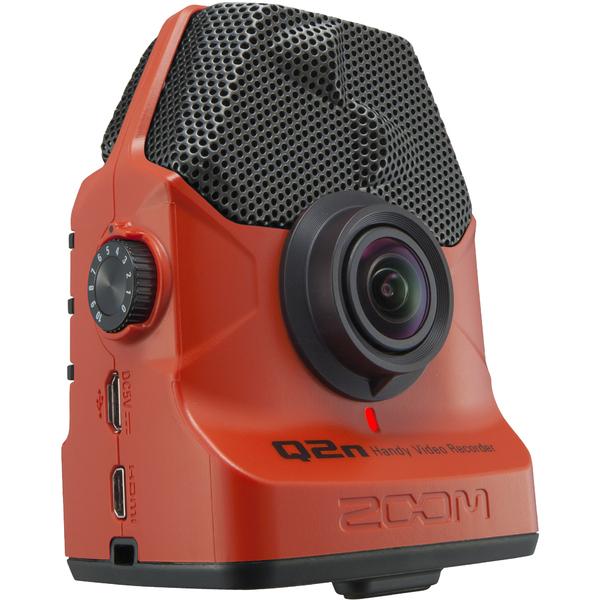 Портативный рекордер Zoom Q2n/R Red запись с веб камеры скачать