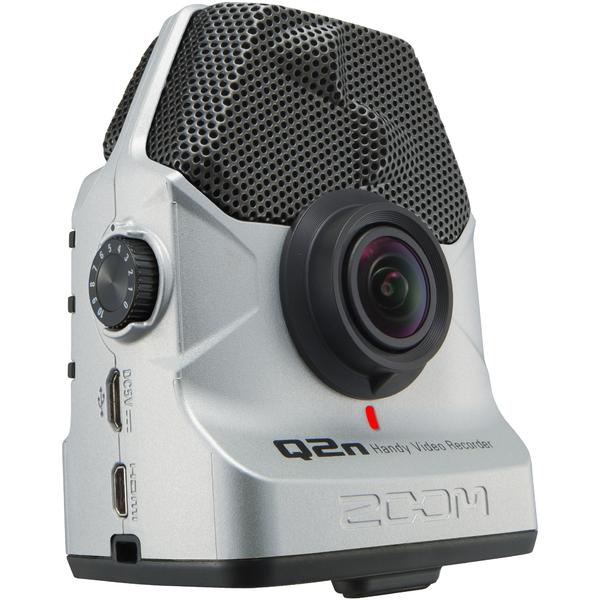 Портативный рекордер Zoom Q2n/S Silver запись с веб камеры скачать