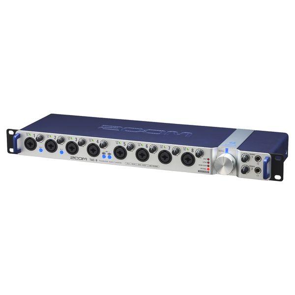 Внешняя студийная звуковая карта Zoom TAC-8 аудиоинтерфейс zoom tac 8