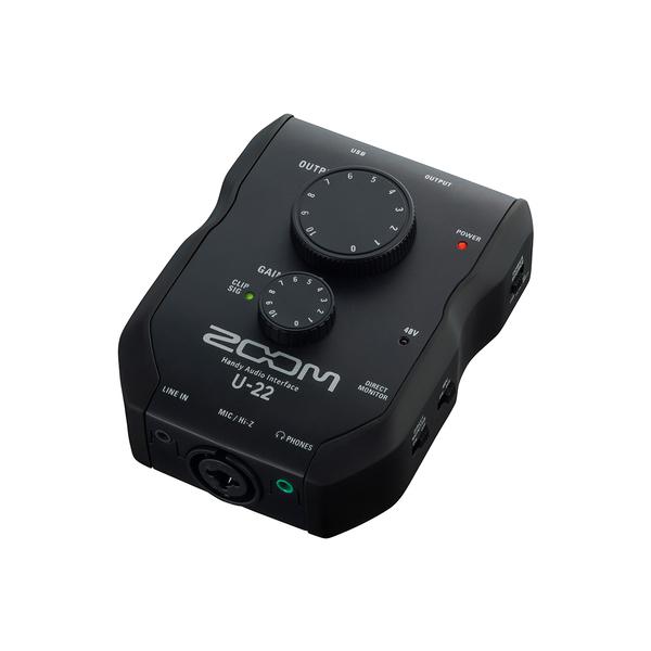 Внешняя студийная звуковая карта Zoom U-22 аудиоинтерфейс zoom tac 8