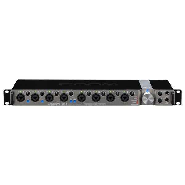 Внешняя студийная звуковая карта Zoom UAC-8 аудиоинтерфейс zoom tac 8