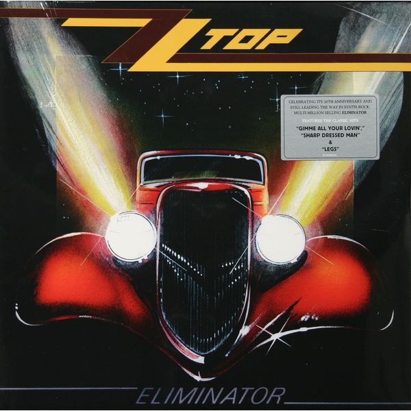 Zz Top Zz Top - Eliminator black choker sleeveless crop top