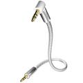 Кабель miniJack-miniJack Inakustik Premium MP3 Audio Cable 90°