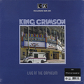 KING CRIMSON - LIVE AT THE ORPHEUM (200 GR)