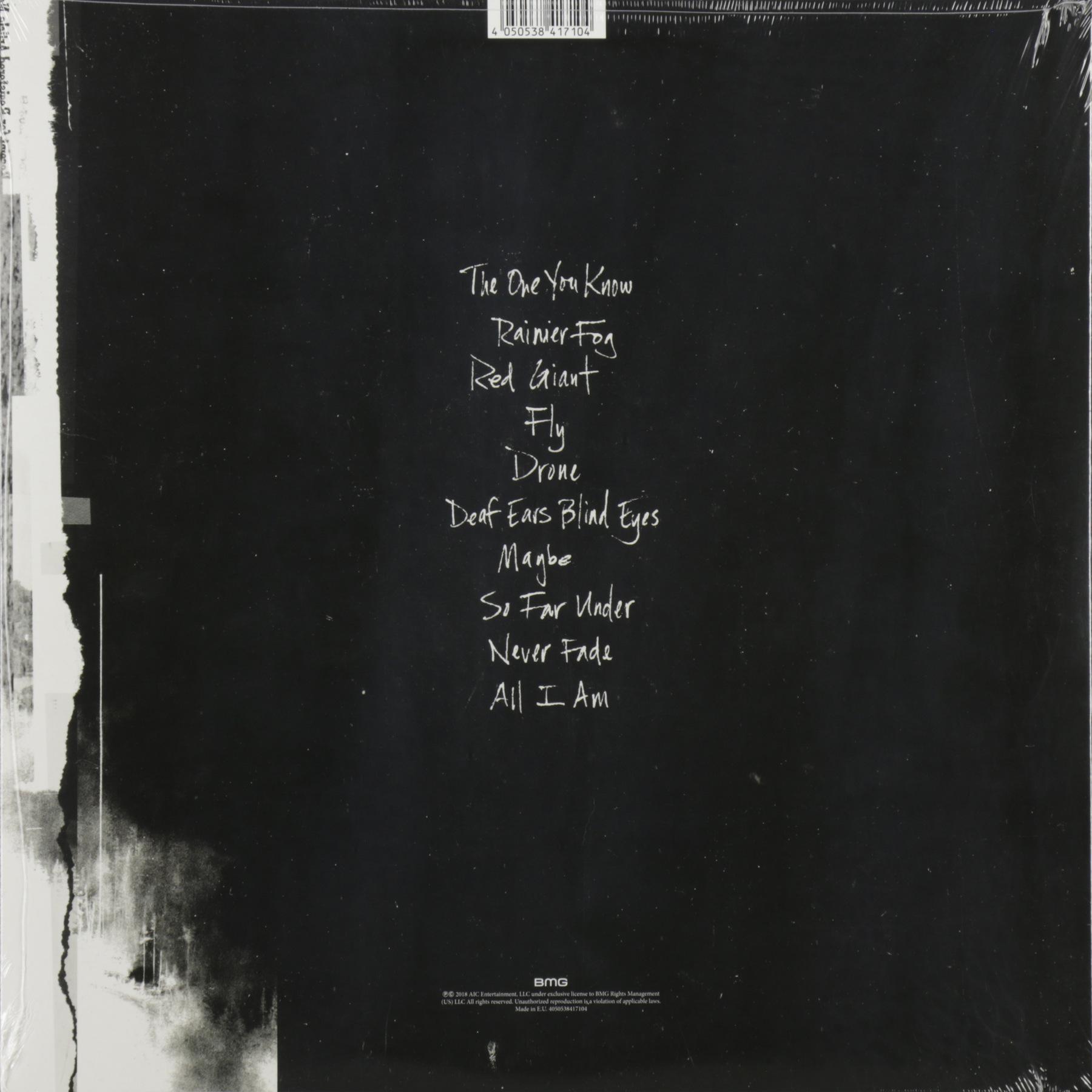 Rainier Fog Alice In Chains: RAINIER FOG (2 LP), купить виниловую