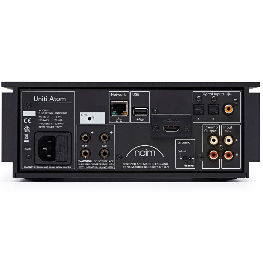 Naim Uniti Atom (HDMI), купить стереоресивер Naim Uniti