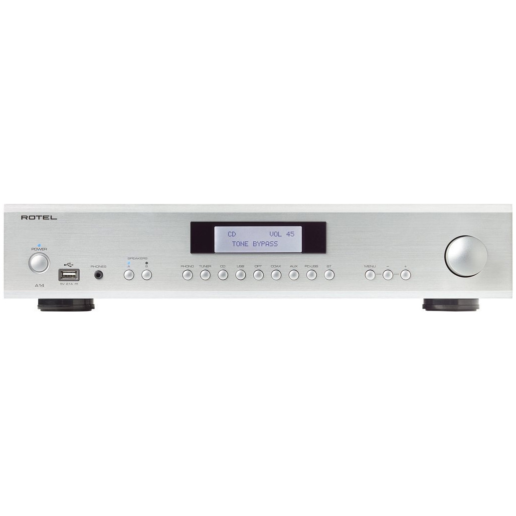 Rotel Ra 1570 1520 Integrated Amplifier A14 Silver