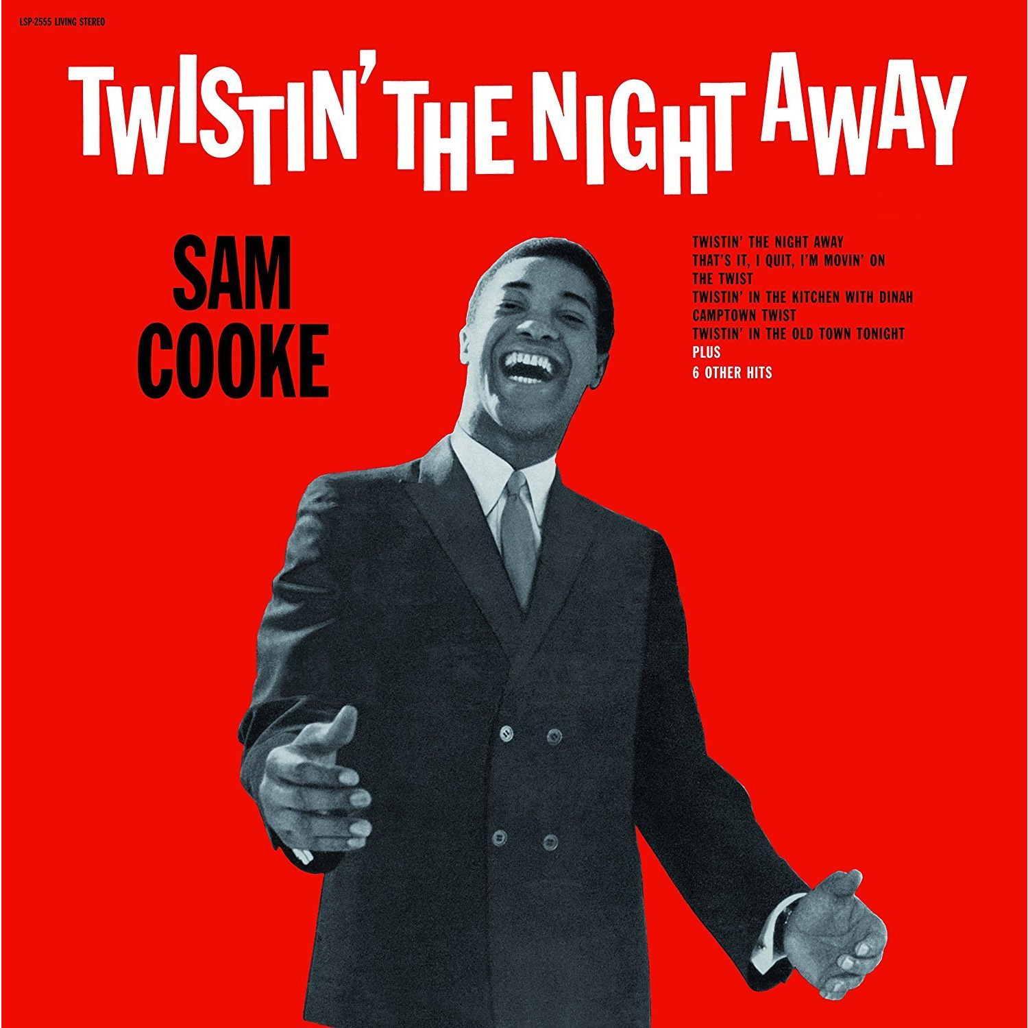 SAM COOKE - TWISTIN' THE NIGHT AWAY, купить виниловую ...