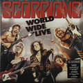 Виниловая пластинка SCORPIONS - WORLD WIDE LIVE (50TH ANNIVERSARY DELUXE EDITION) (2 LP 180 GR + CD)