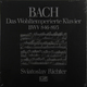 Виниловая пластинка SVIATOSLAV RICHTER - BACH: THE WELL-TEMPERED CLAVIER (BOOKS I + II) (6 LP)