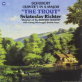 Виниловая пластинка SVIATOSLAV RICHTER - SCHUBERT: PIANO QUINTET THE TROUT  (180 GR)