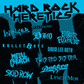 Виниловая пластинка VARIOUS ARTISTS - HARD ROCK HERETICS (COLOUR)